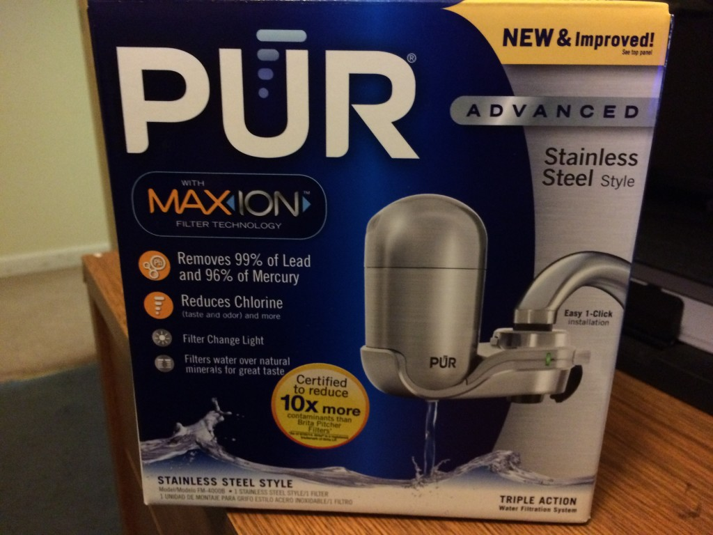 PUR MaxION Water Filter- Review
