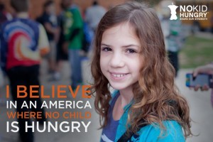 Take the pledge to END childhood hunger in America with No Kid Hungry