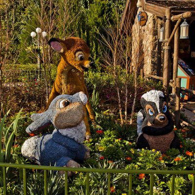Epcot in Bloom at the 23rd Epcot International Flower & Garden Festival this Spring