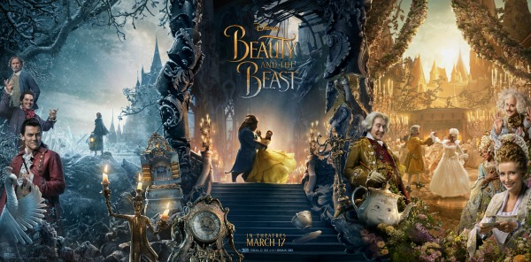 beauty and the beast character poster