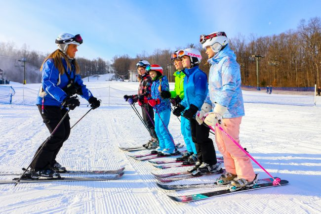 kids ski free pennsylvania