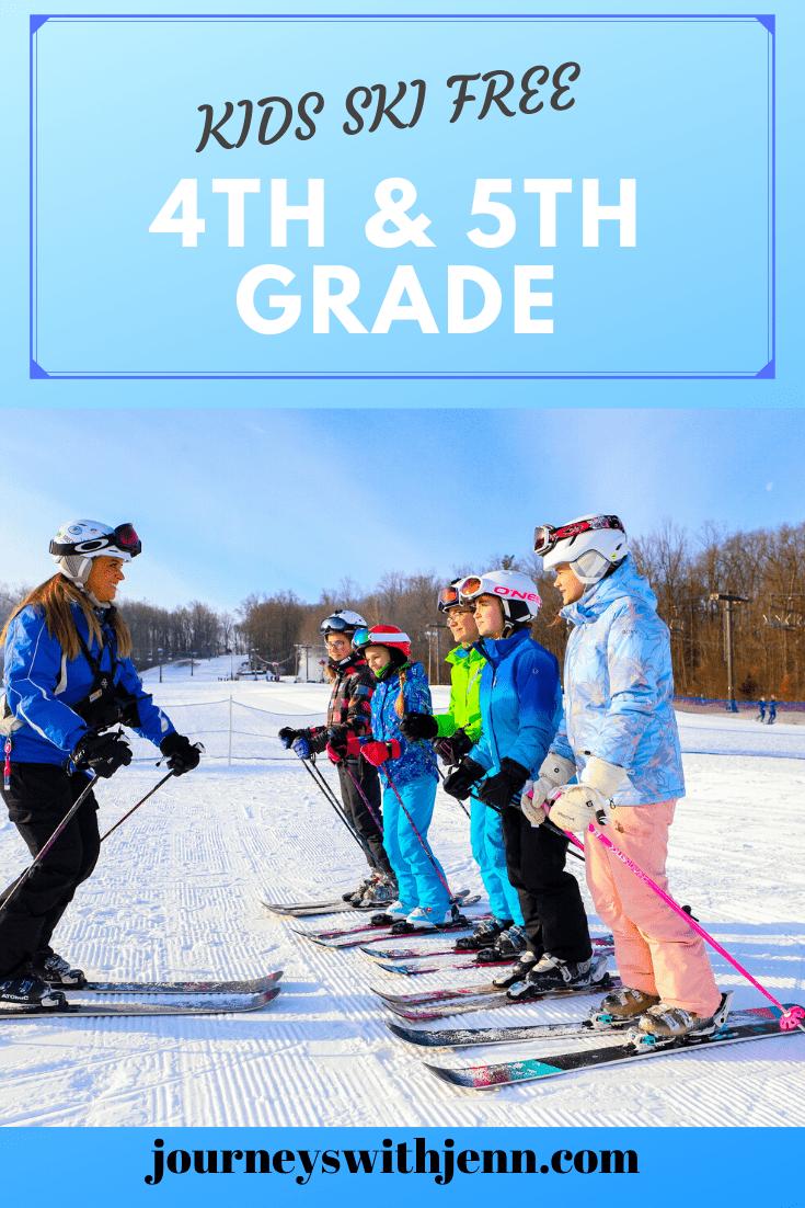 kids ski free pennsylvania