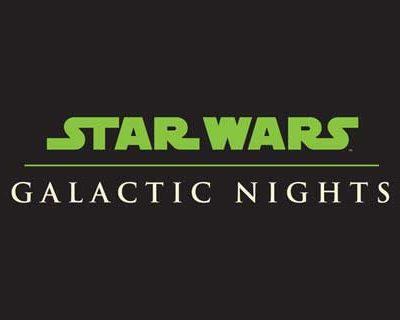 Star Wars: Galactic Nights will be April 14 at Hollywood Studios