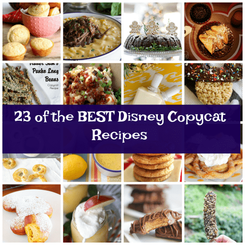 disney copycat recipes