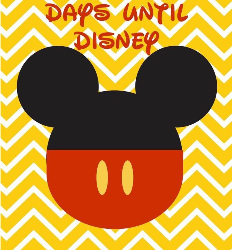 disney vacation countdowns