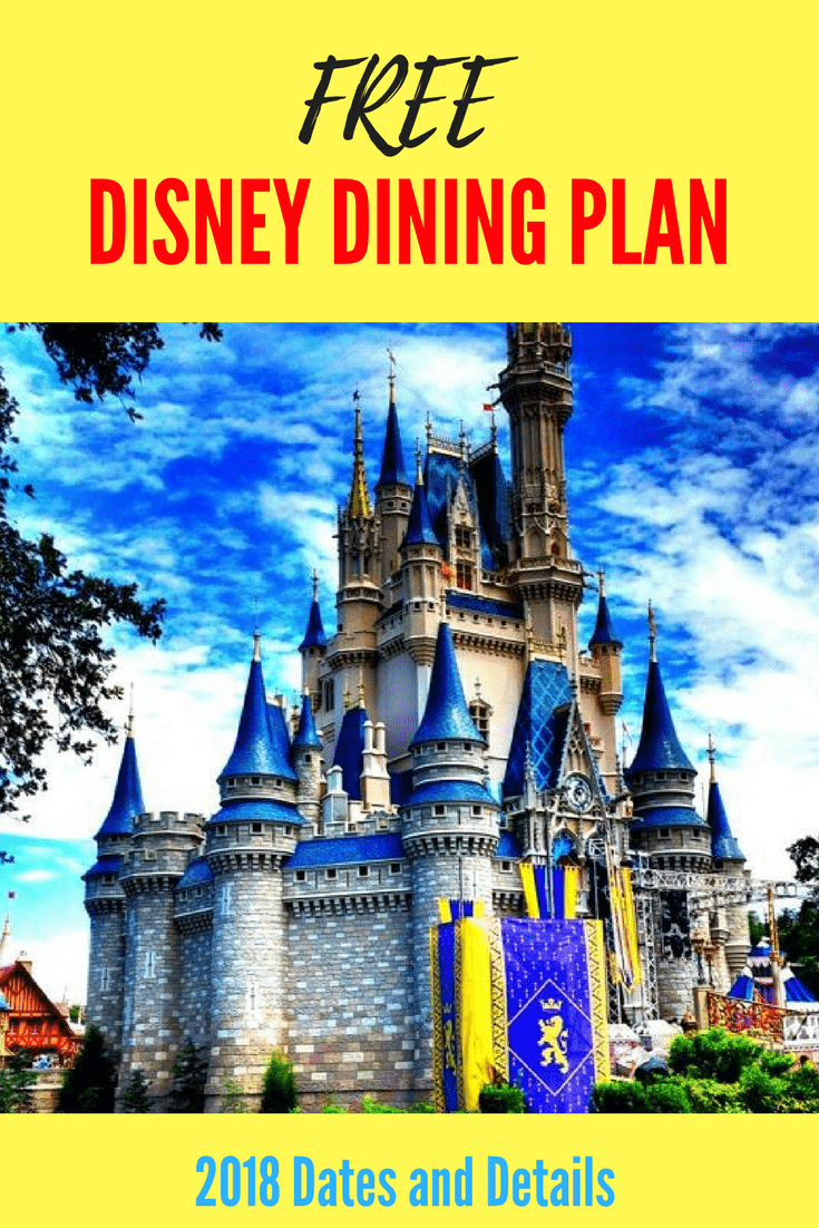 disney dining plan offer