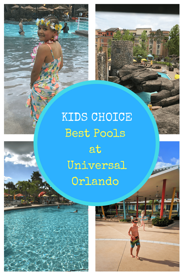 universal orlando resort pools