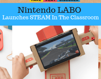 Nintendo Labo To Teach STEAM In The Classroom