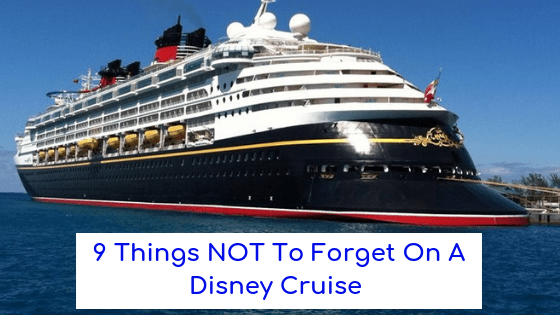 disney cruise packing