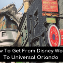 how to get from Disney World to Universal Orlando
