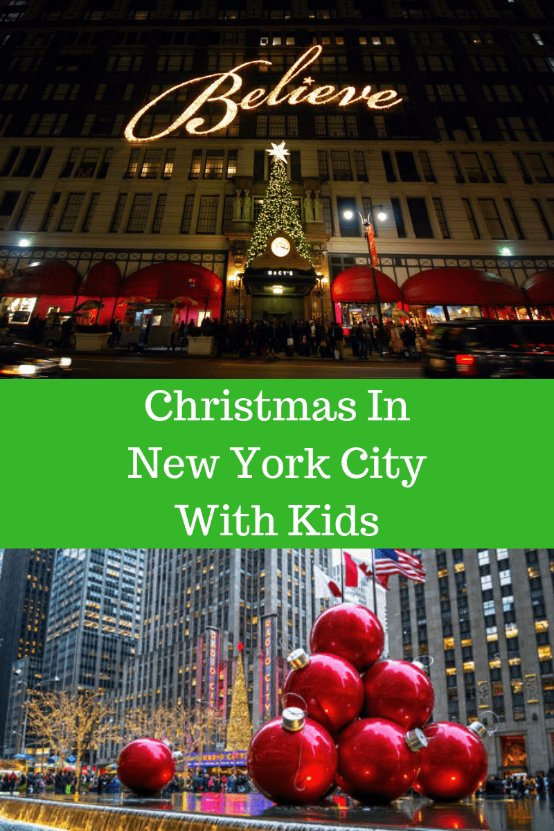 christmas in new york city with kids