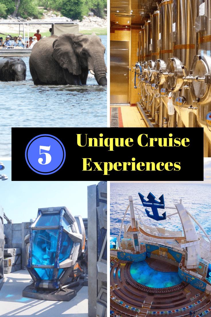 unique cruise experiences