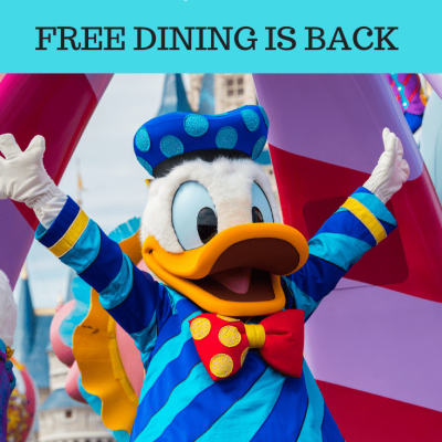 Walt Disney World Discounts – Fall 2019, Free Dining and More