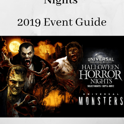 Halloween Horror Nights – 2019 Guide